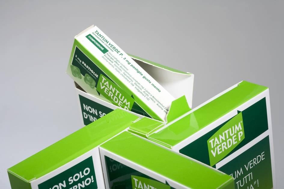 Espositore Tantum Verde Pastiglie